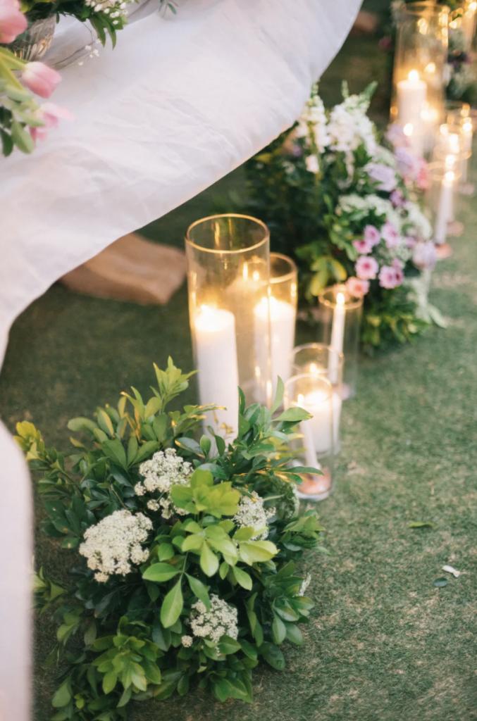 solsejl bruges til både bryllupper og fester